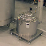 CV-01 - equipment for collection and storage of yeast