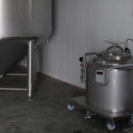 equipment for collection and storage of yeast