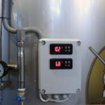 Control panel for fermentation tanks
