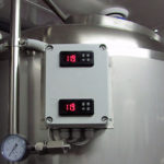Control panel for 400 l net fermentation tanks