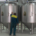 Fermentation cylindrical-conical tanks 3000 l net
