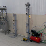 Semi-automatic beer filling and closing machines