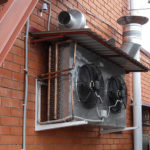 Condenser of cooling-system Optima1 for 1000l brewery